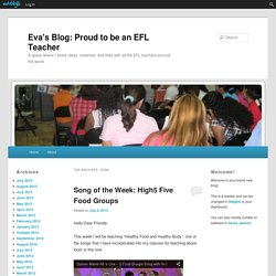 Eva's Blog: Proud to be an EFL Teacher