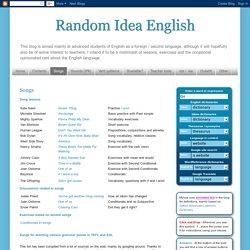 Random Idea English: Songs
