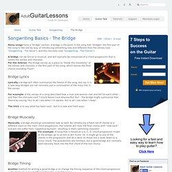 Songwriting Basics - The Bridge