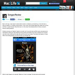 Songza Review
