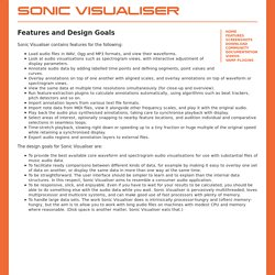Sonic Visualiser