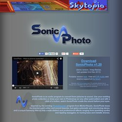 SonicPhoto - Convert pictures to sounds!