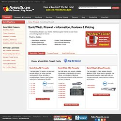SonicWALL Firewall - Information, Reviews, Prices & Training - Firewalls.com