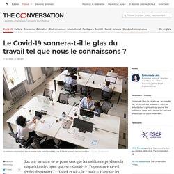 Le Covid-19 sonnera-t-il leglas du travail telque nous leconnaissons?