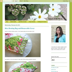Rice Heating Bag and Removable Cover