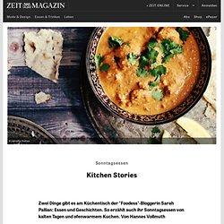 Sonntagsessen: Kitchen Stories