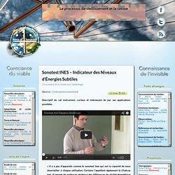 Sonotest INES – Indicateur des Niveaux d'Énergies Subtiles
