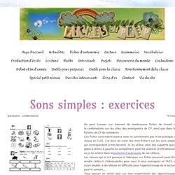 Les sons simples : exercices d'entraînement