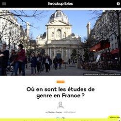 Où en sont les études de genre en France?