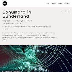 Sonumbra in Sunderland