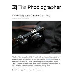 Sony 20mm f2.8 (APS-C E Mount)