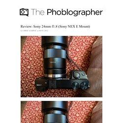 Sony 24mm f1.8 (Sony NEX E Mount)