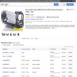 Sony Action Cam-HDR-AS15 - Caméscope - Haute définition