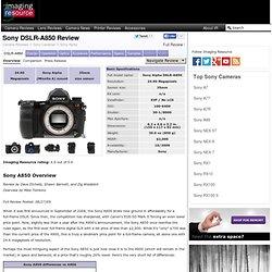 Sony Alpha DSLR-A850 Digital Camera - Full Review - The Imaging