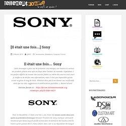 Sony : toute son histoire