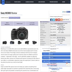 Sony HX300 Review