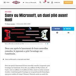 Sony ou Microsoft, un duel plié avant Noël