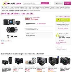 SONY NEX 3N NOIR + 16-50 + 55-210