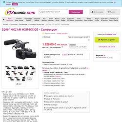 SONY NXCAM HXR-NX30E - Caméscope