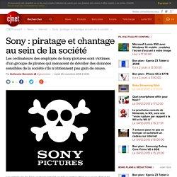 Sony : piratage et chantage au sein de la société