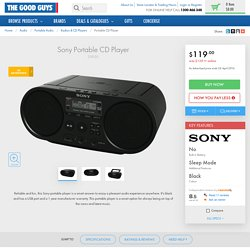Sony ZSPS50 Portable CD Player at The Good Guys