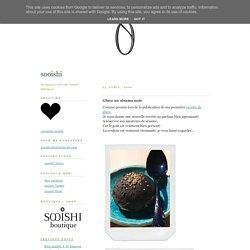 sooishi: Glace au sésame noir