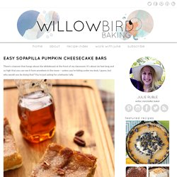 Easy Sopapilla Pumpkin Cheesecake Bars | Willow Bird Baking