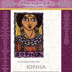 Sophia, Greek Goddess of Divine Wisdom and Gnostic Great Mother