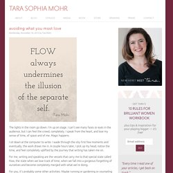 Tara Sophia Mohr, Playing Big. Find Your VOICE, Your MISSION, and Your MESSAGE.