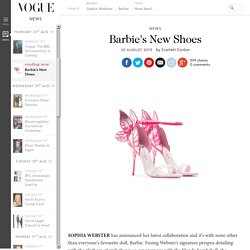 Sophia Webster Barbie Adult and Child Shoe Collaboration