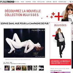 """Sophie Dahl nue pour la campagne de pub """"Opium"""" de Yves Saint Laurent"""