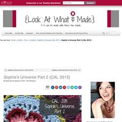 Sophie's Universe Part 2 {CAL 2015}