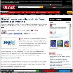 Sopixi : créer son site web, de façon gratuite et intuitive
