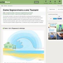 PERICOLO: cosa succede se c'è uno tsunami?