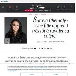 "Soraya Chemaly : ""Une fille apprend très tôt à ravaler sa colère"" - Madame Figaro"