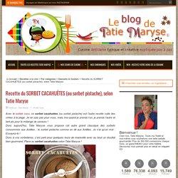 Le sorbet cacahuètes des Antilles : une pure saveur !