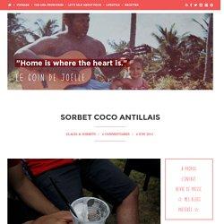 sorbet coco antilles