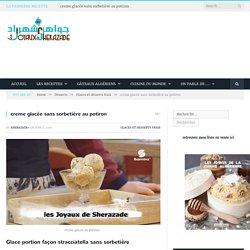 creme glacée sans sorbetière au potiron - Les Joyaux de Sherazade