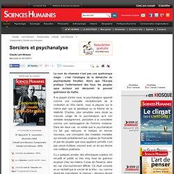 Sorciers et psychanalyse