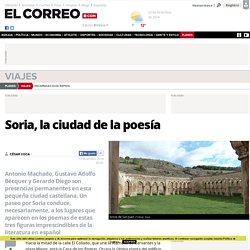 Soria, la ciudad de la poesía