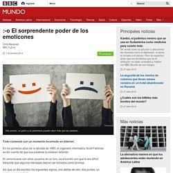 :-o El sorprendente poder de los emoticones - BBC Mundo