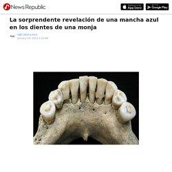 La sorprendente revelación de una mancha azul en los dientes de una monja