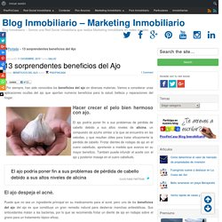 13 sorprendentes beneficios del Ajo - Blog Inmobiliario - Marketing Inmobiliario