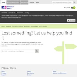 Ordnance Survey - Free Wallpapers and Screensavers