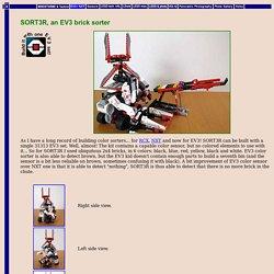 SORT3R, an EV3 brick sorter