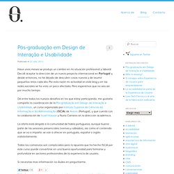 Blog de Sergio Ortega