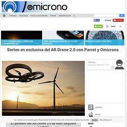 Sorteo en exclusiva del AR Drone 2.0 con Parrot y Omicrono