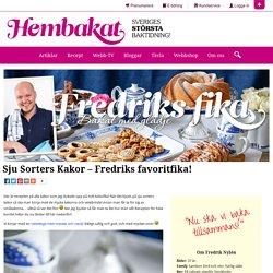 Sju Sorters Kakor - Fredriks favoritfika!