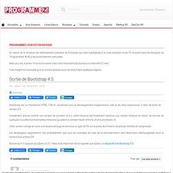 Sortie de Bootstrap 4.5