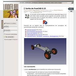 Sortie de FreeCAD 0.15